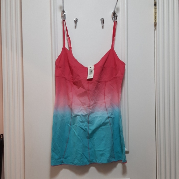 NWT Wilfred corset style tank top in ombre